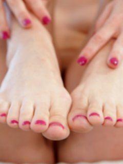 Фут-фетиш с изумительными ножками